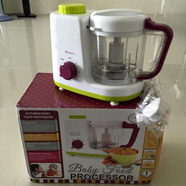 Autumnz 2 in 1 baby food processor