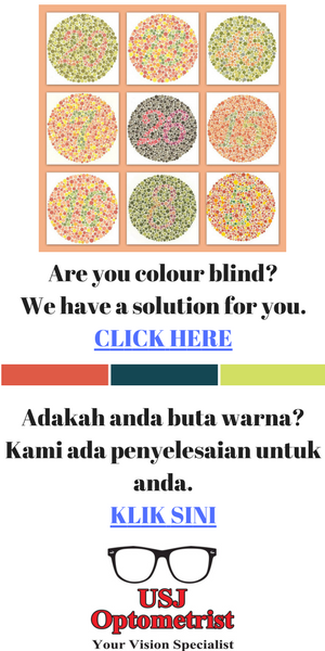 Colour Blind Lens