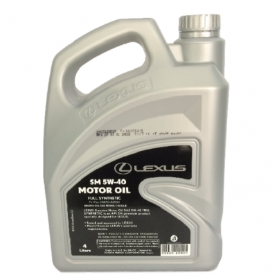 Lexus 5W40 engine oil