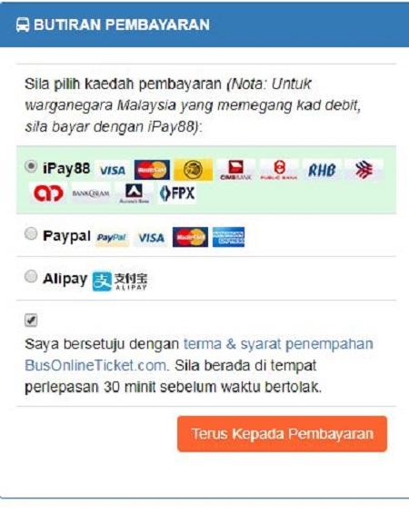 Maklumat pembayaran