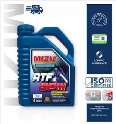 ATF gear oil
