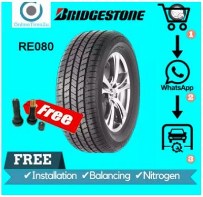 Bridgestone on Lazada